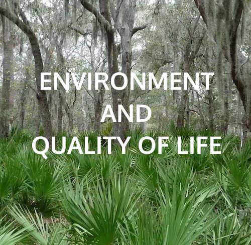 Environment and Quality of Life